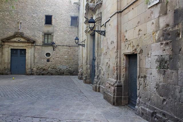 plaza felip neri barrio gótico barcelona