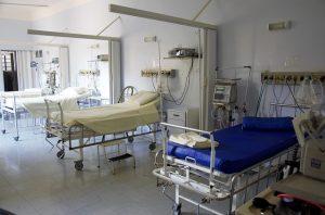camas vacias de hospital