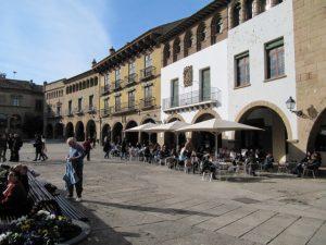 plaza del pueblo español