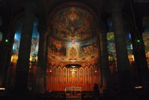 capilla de la iglesia del tibidabo