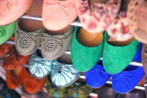 imagen de ballerinas de distintos colores