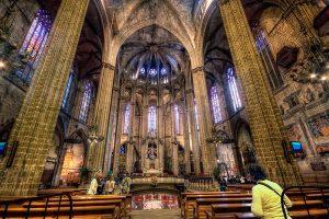 Capilla de la catedral de Barcelona o catedral de santa eulália