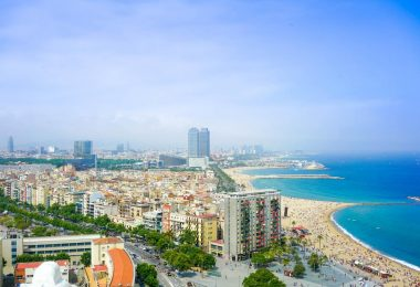 playa puerto olimpico barcelona