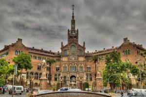 vista de l'edifici de Sant Pau