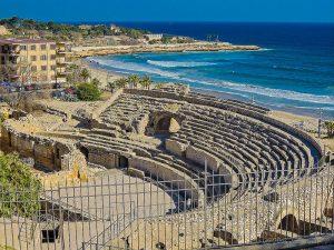 vista del anfiteatro de Tarragona