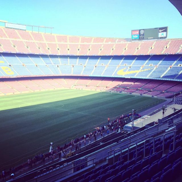 Ya conoces el Camp Nou? Aprovecha y vistalo este finhellip