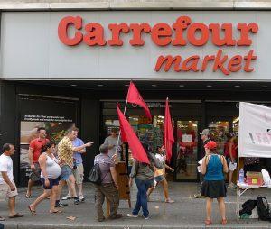 entrada Carrefour de la Rambla de Barcelona