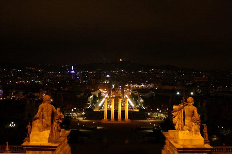 vistas panorámicas de Barcelona, MNAC gratis, Museo Nacional de Arte de Cataluña