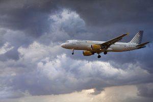imagen de un avión en vuelo