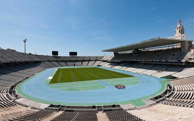estadio olimpico de montjuic