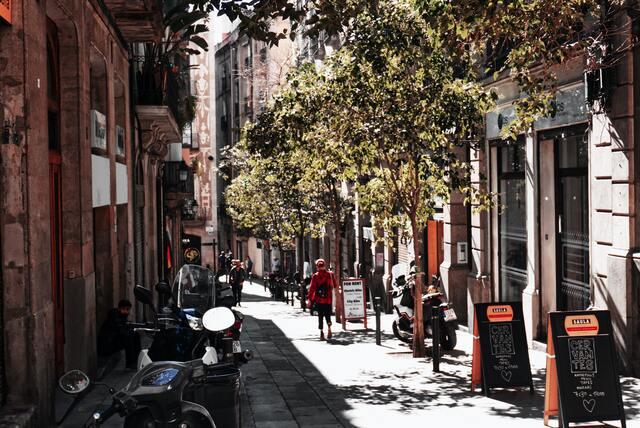 diez distritos de barcelona
