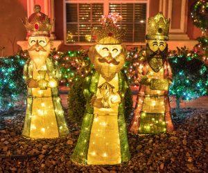 lamparas gigantes de reyes magos