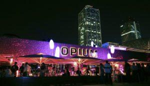 El edificio Opium desde afuera.