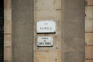 Imagen de Las Ramblas de Barcelona