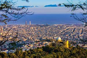 Imagen del skyline de Barcelona