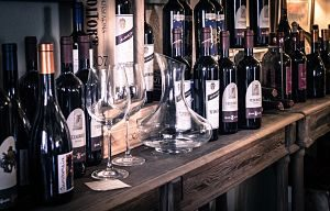 Imagen de botellas de vino