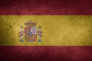 Imagen de una bandera de españa