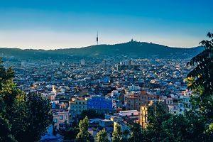 Imagen aérea de Barcelona