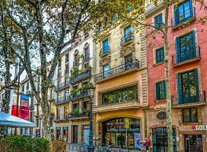 Imagen de edificios de Barcelona