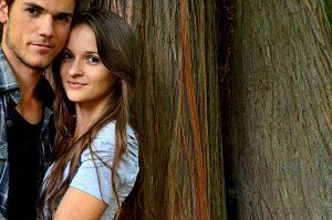 Imagen de una pareja de jóvenes