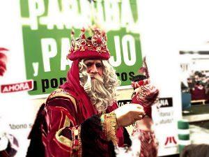 Imagen de uno de los reyes magos