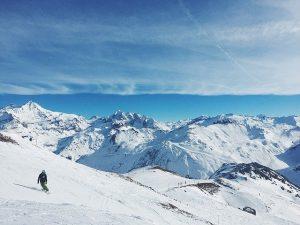 imagen de montañas nevadas
