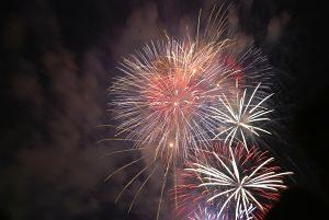 Imagen de unos fuegos artificiales
