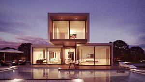 Imagen de una casa prefabricada moderna