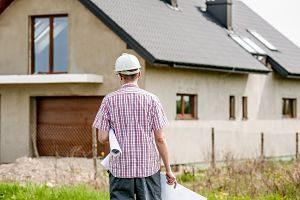 Imagen de una casa en construcción