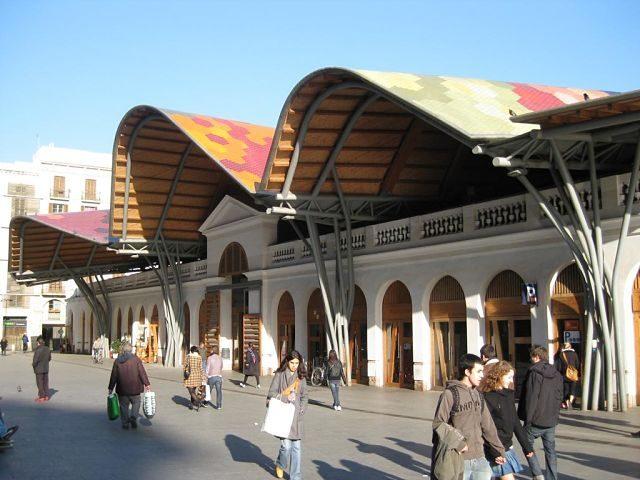Imagen del mercado de santa caterina de Benedetta Tagliabue