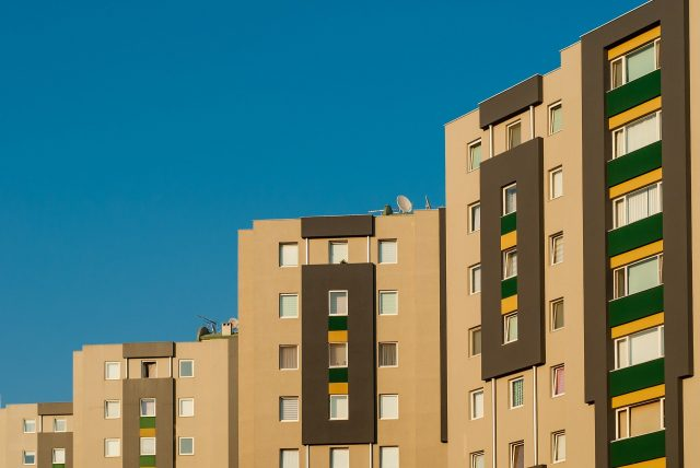 Imagen de un bloque de viviendas