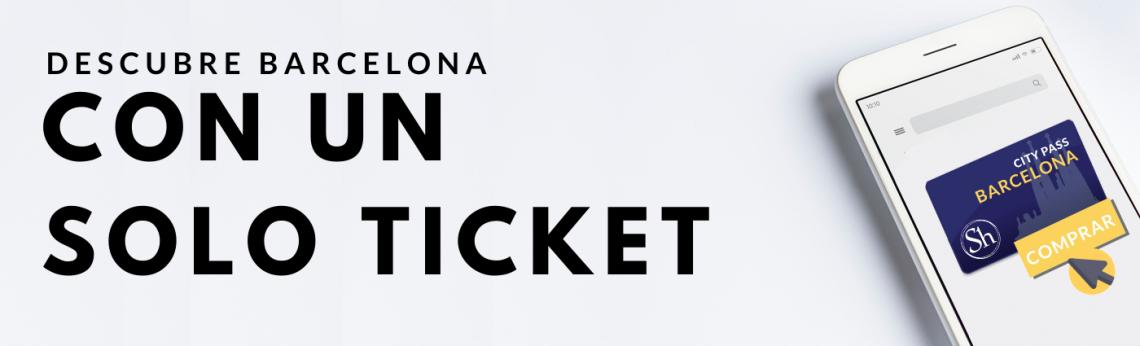 Barcelona City Pass ticket