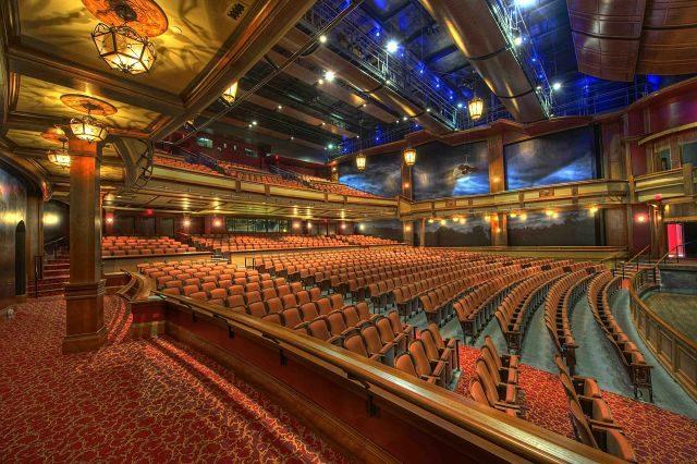 Imagen de un teatro grande