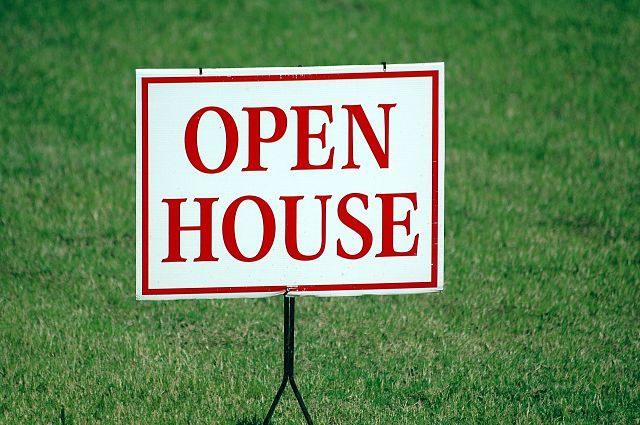 Imagen de un letrero de casa en venta en inglés