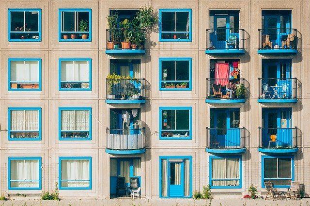 balcones de apartamentos
