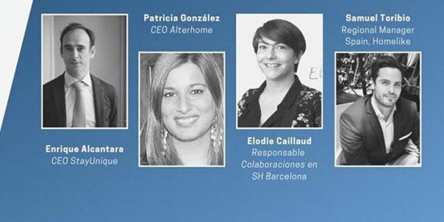 infografía con los participantes del webinar