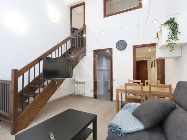 Bonito piso alquiler Barcelona duplex para estudiantes