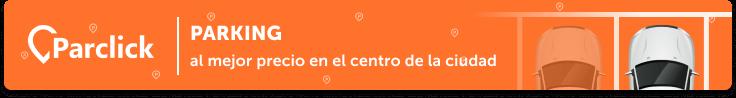 banner de parclick para aparacar en Barcelona