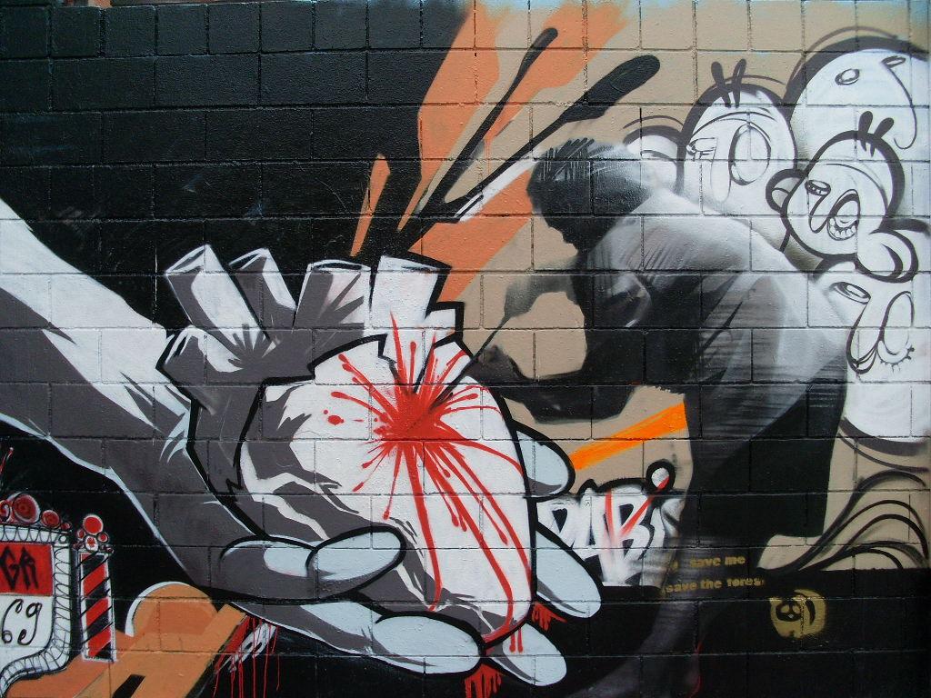 Arte en las calles de Barna