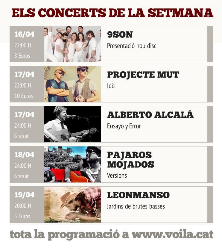 La gira catalana del cantautor alberto alcal pasa por for Eventos en barcelona este fin de semana