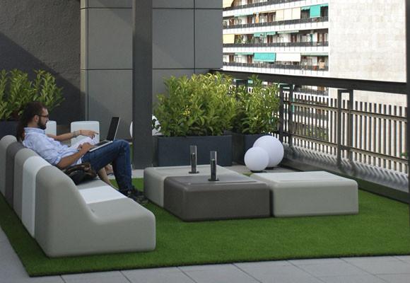 Ideas para decorar una terraza diario de viaje barcelona for Ideas para decorar terrazas de pisos